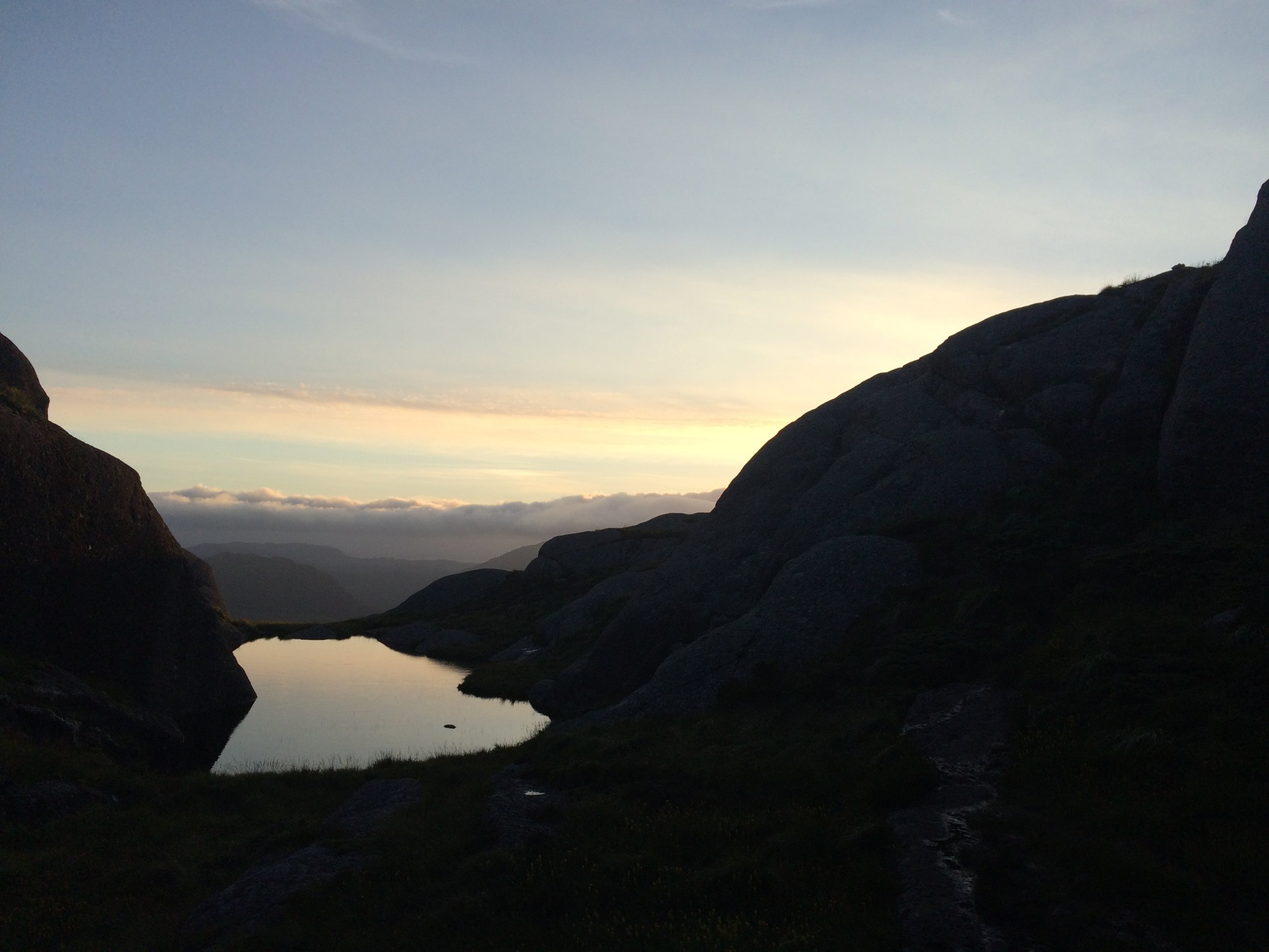 Evening hike
