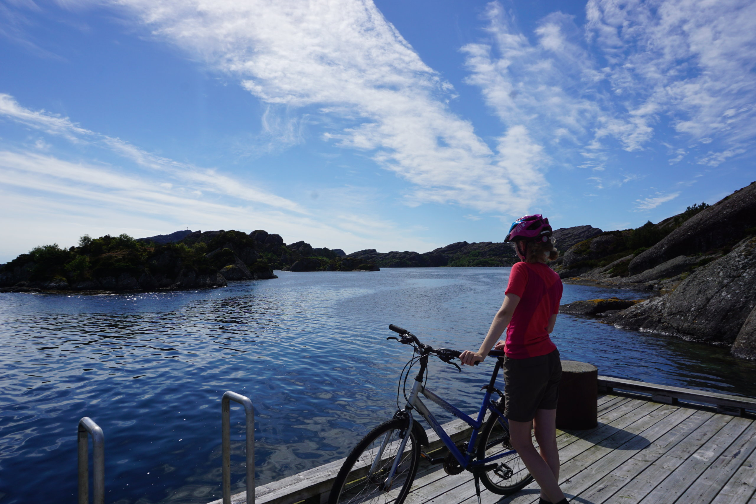 Cycling on the islands