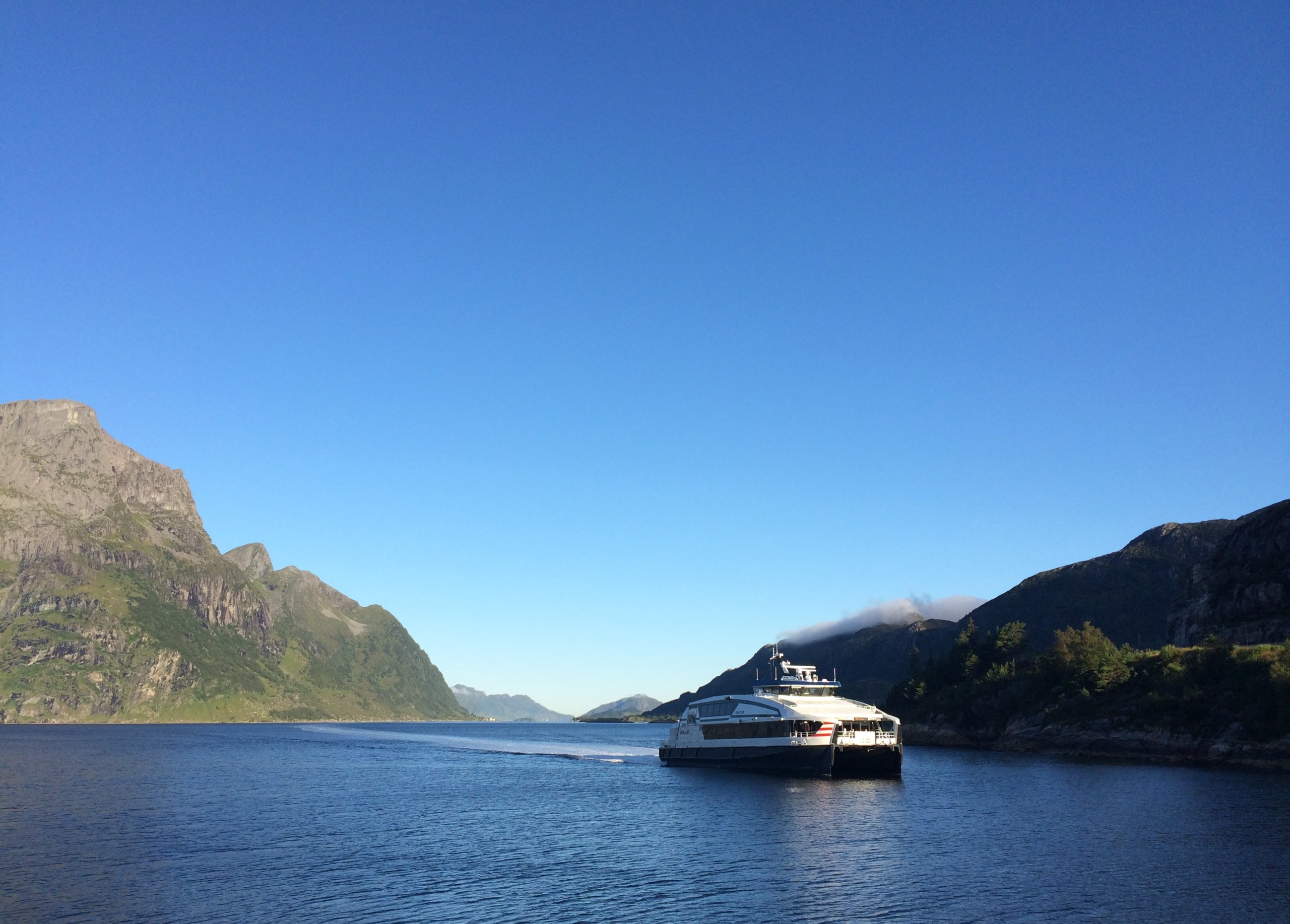 Express boat Hornelen