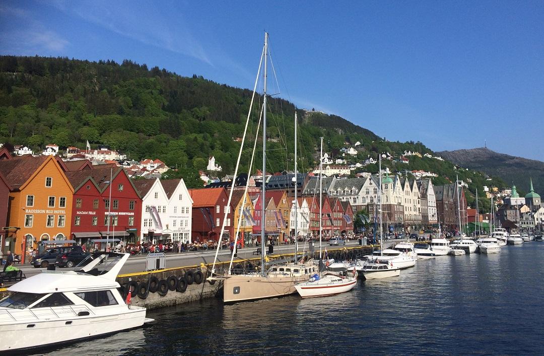 Bergen Bryggen. Norway Adventures vacation