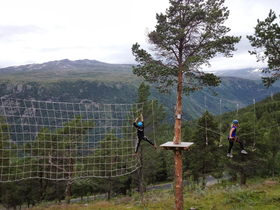 High Rope park, Jotunheimen National Park