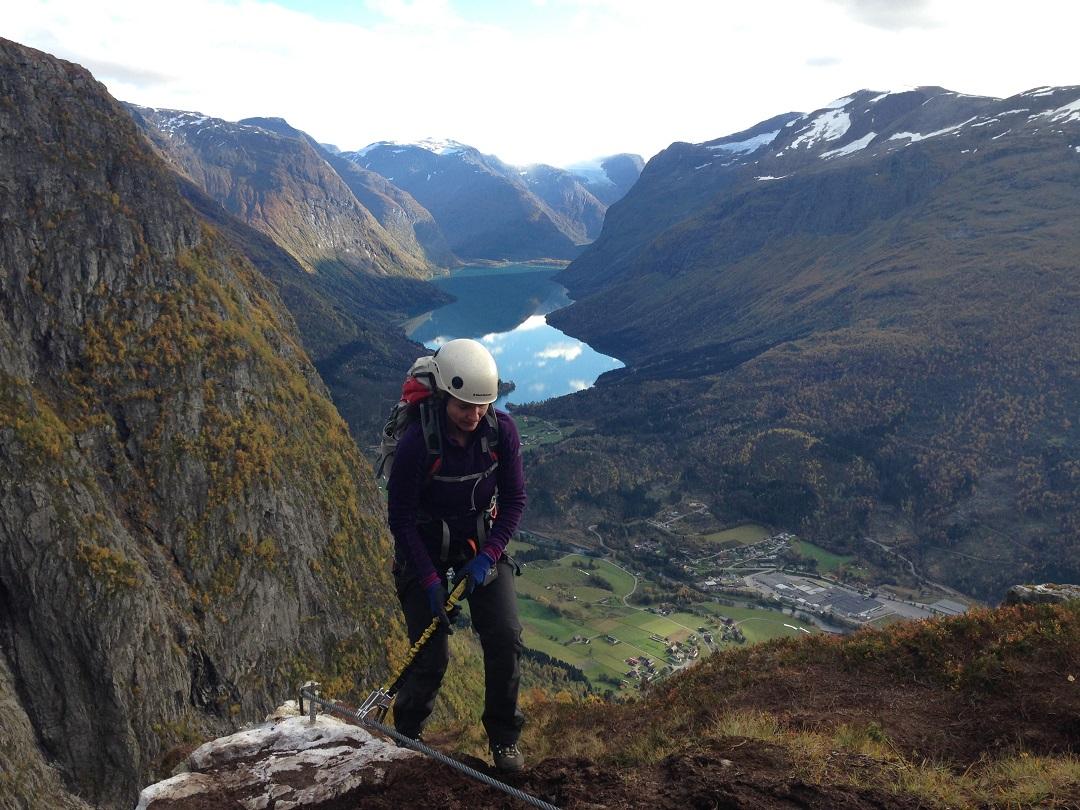 Via Ferrata, Nordfjord