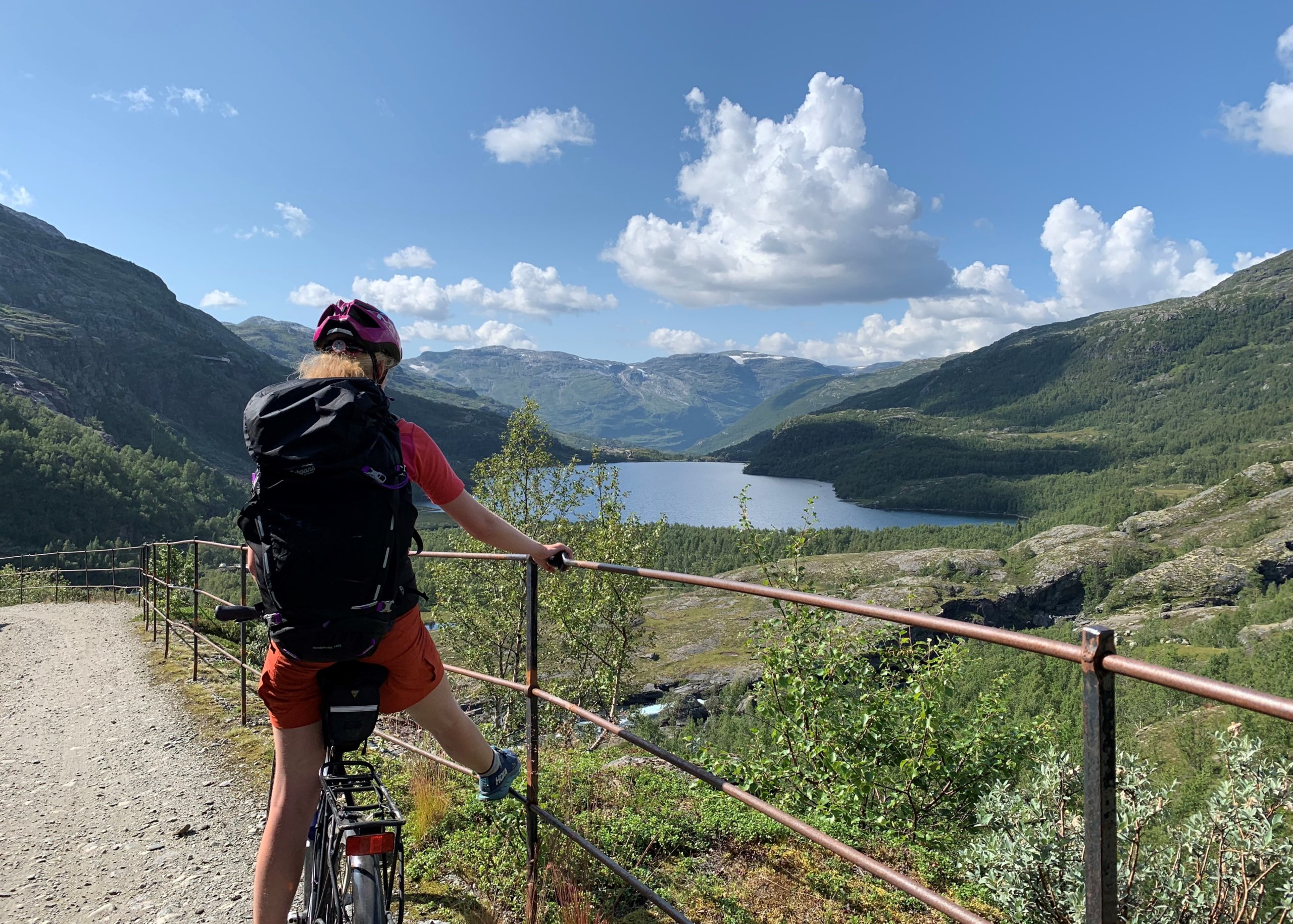 Day 5 Cycling or hiking in the mountains