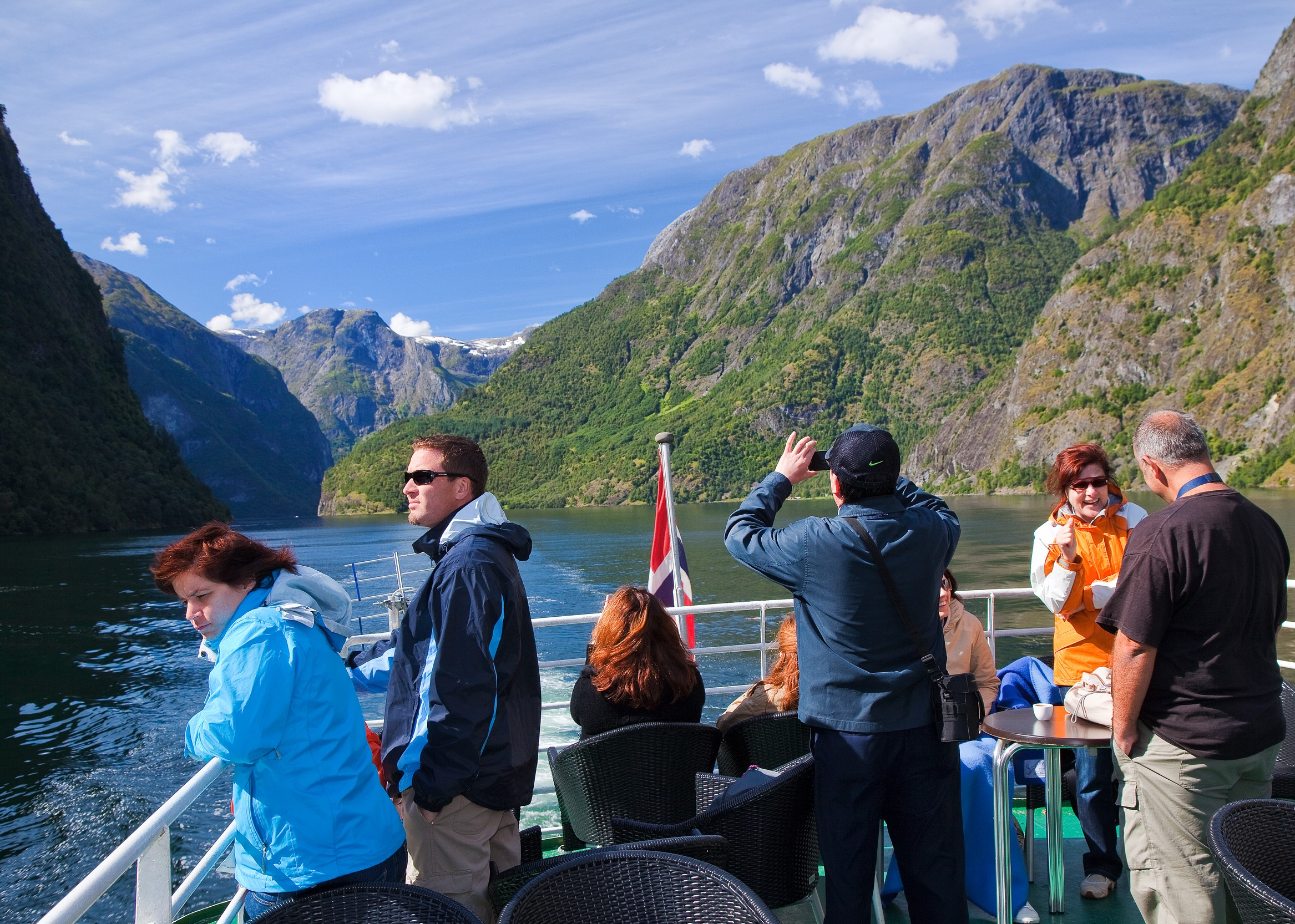 Day 6 ferry Nærøyfjord