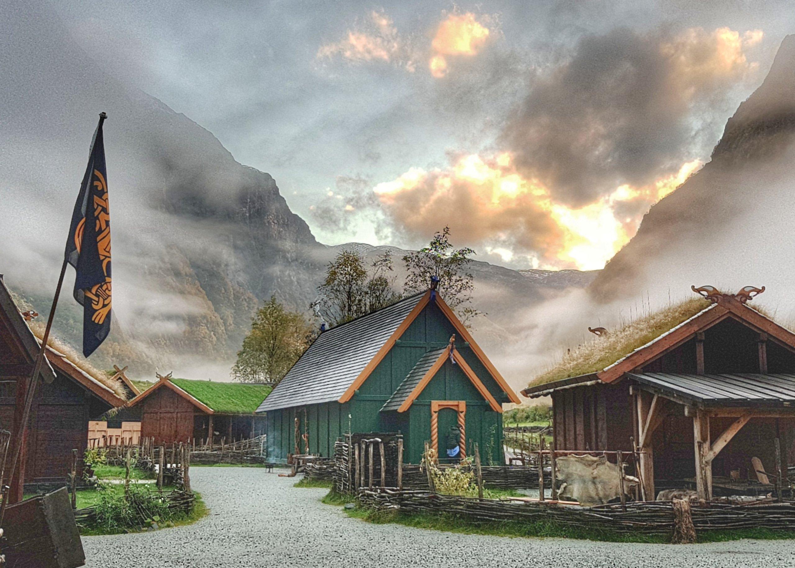 Day 7 Viking village