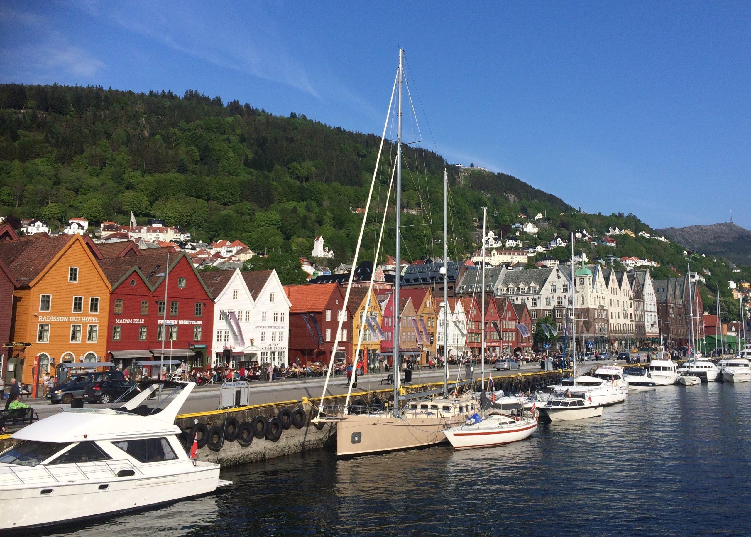 Day 8 Bergen harbor