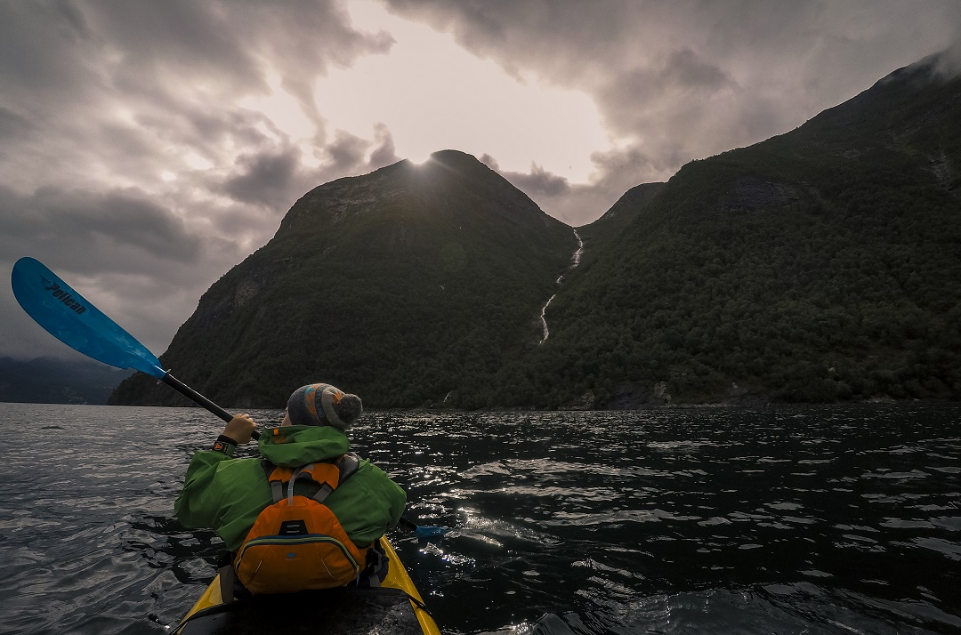 Every day your kayak trip will take on a completely new landscape. Photo: Rytis Media