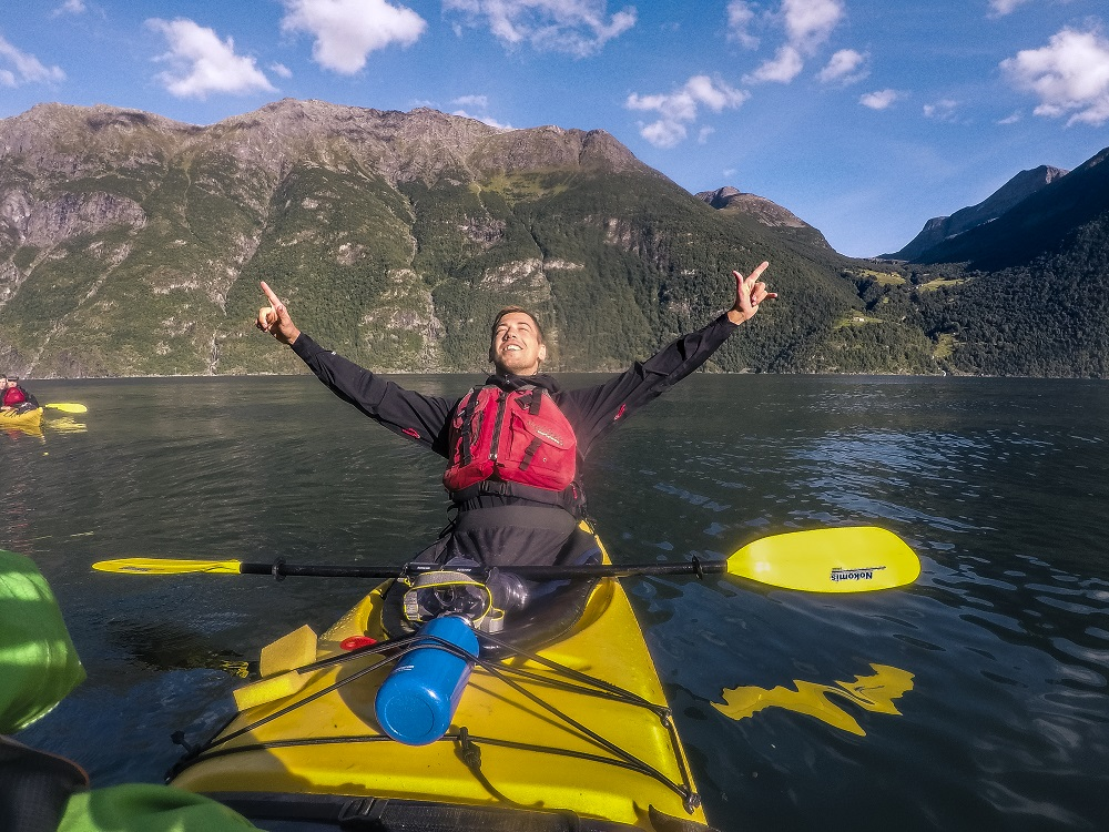 Fjord kayaking trip Norway, Photo: Rytis Media