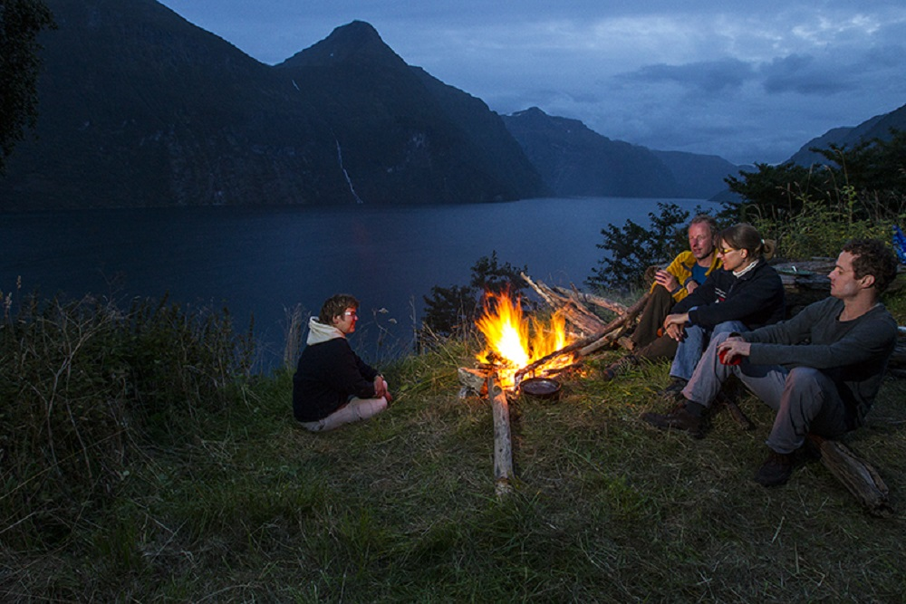 Fjord kayaking trip Norway, Photo: Thomas Bickhardt