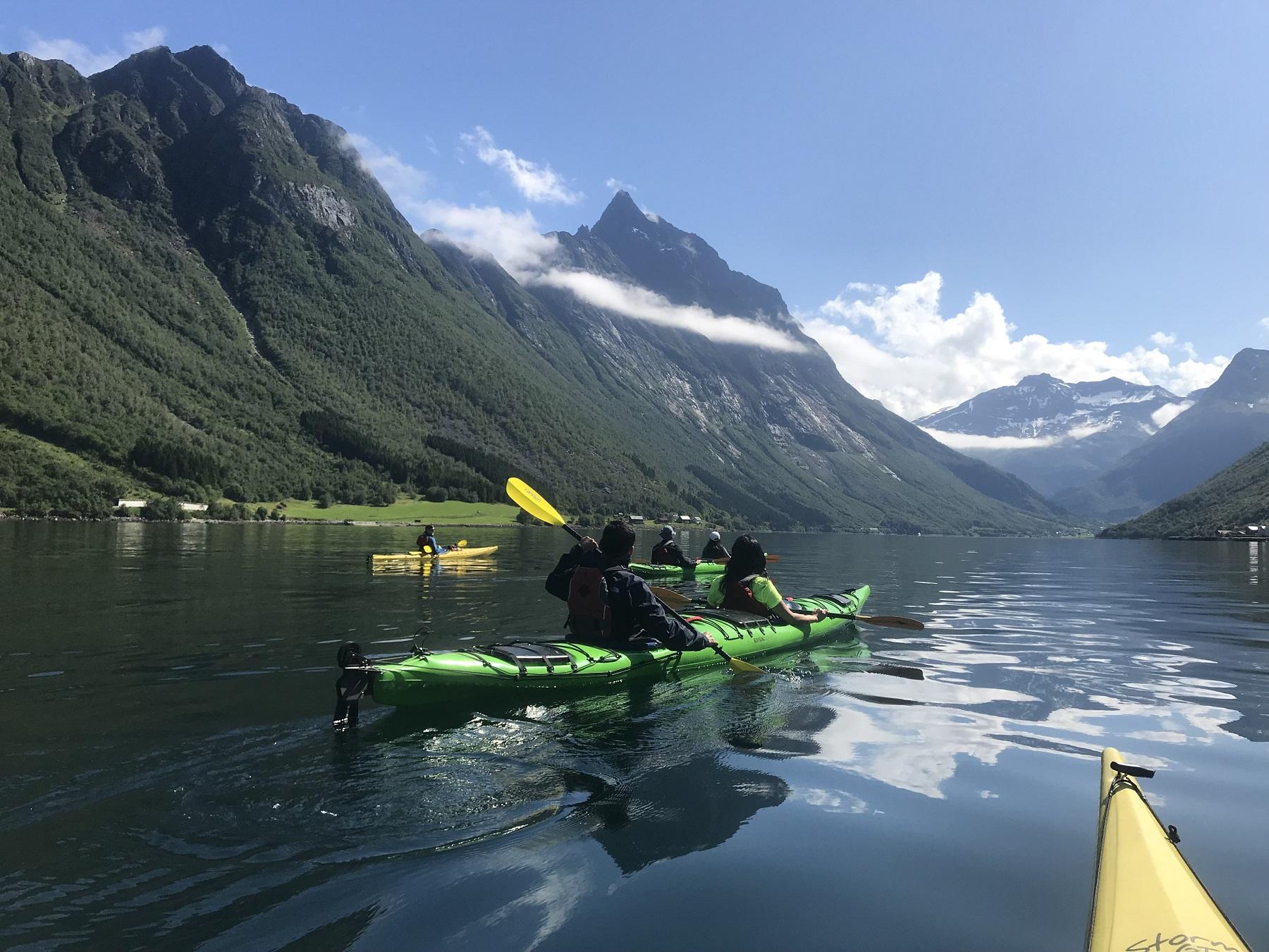 Hidden Fjord kayaking 1 day. 1