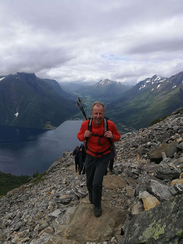 Hidden fjord hiking