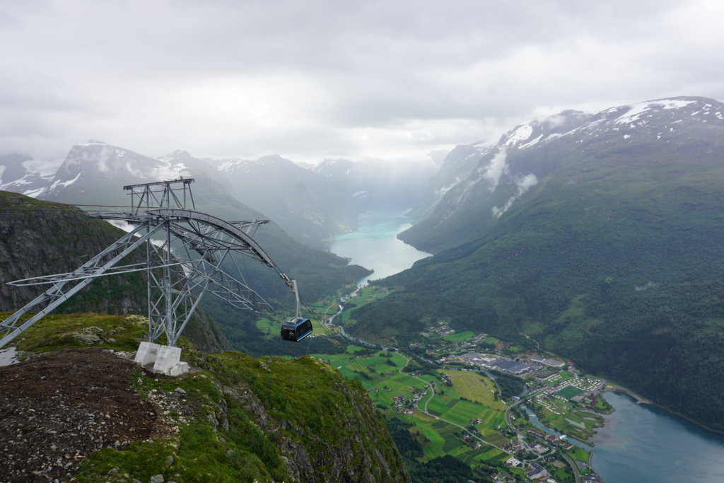 Experience the fjord from up high, no climbing required!
