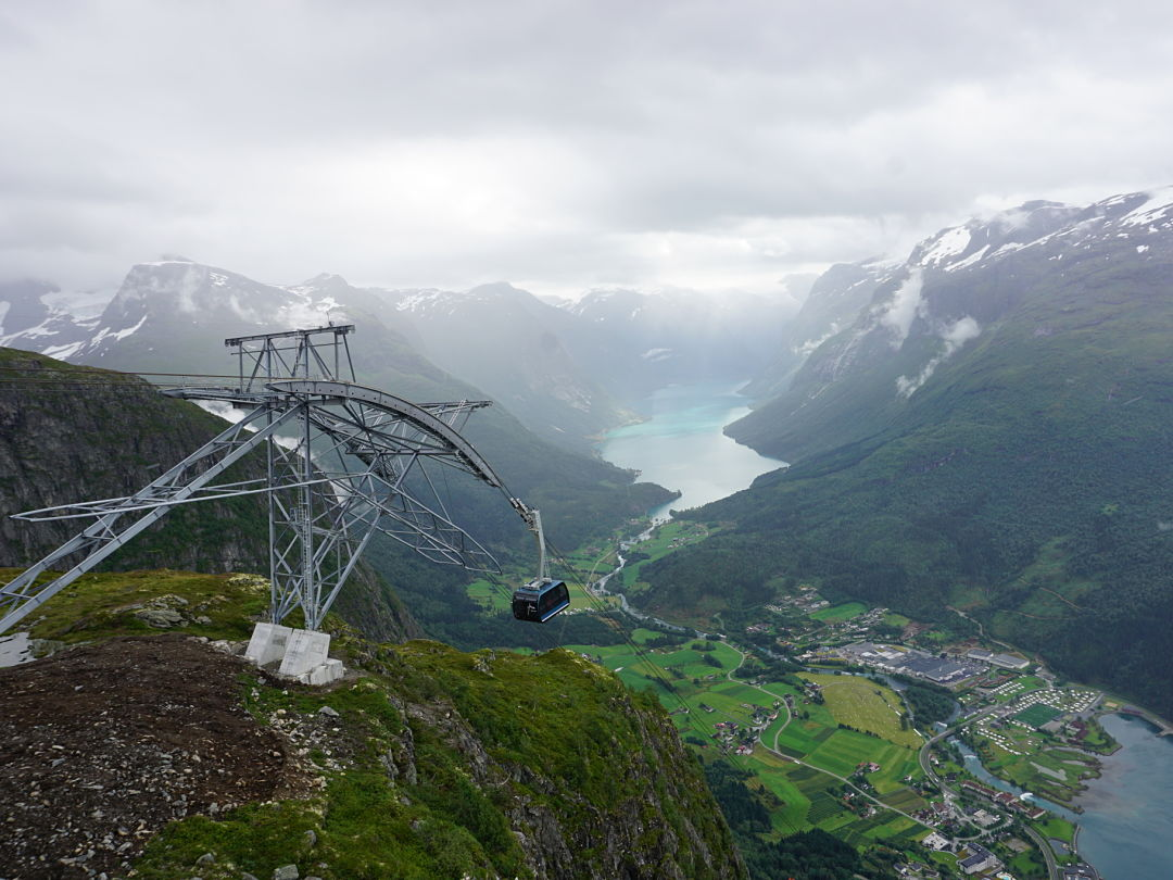 Loen Skylift. Norway Adventures vacation