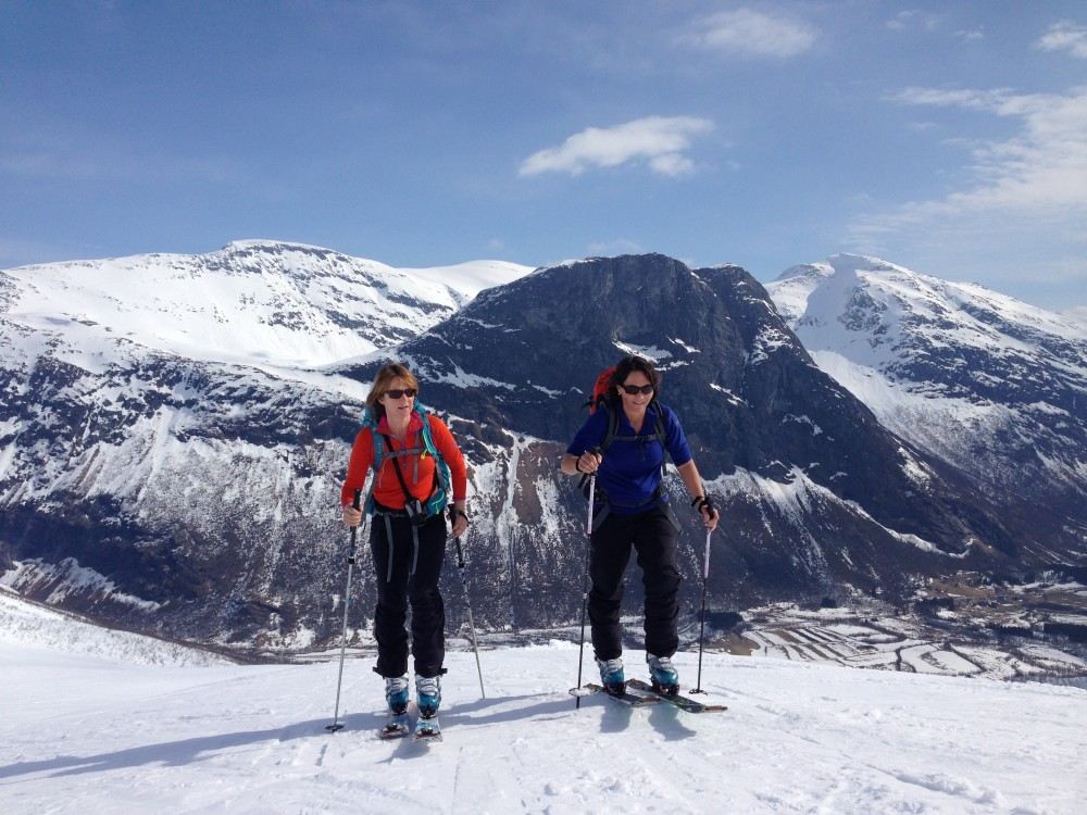 Fjord ski touring holiday Norway