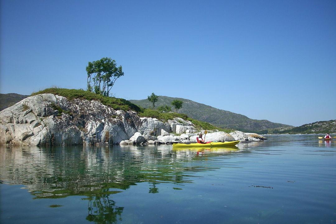 Kayaking, Bremanger