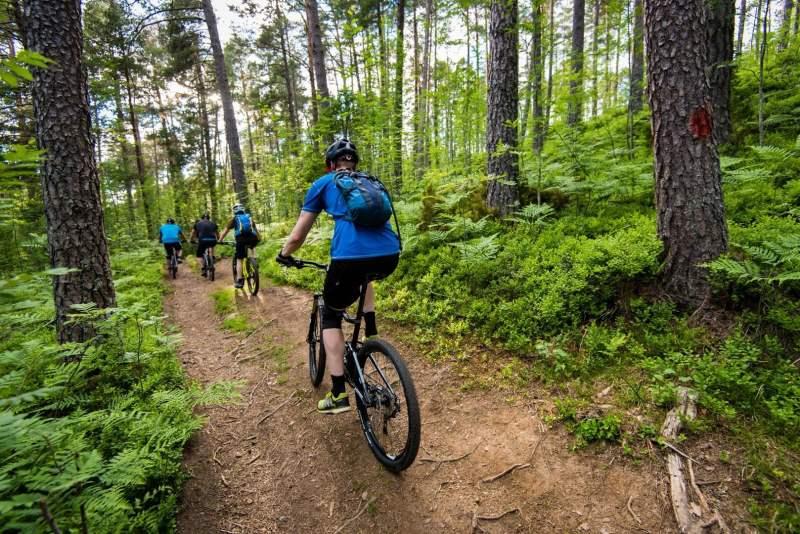 Mountain biking in Nordfjord
